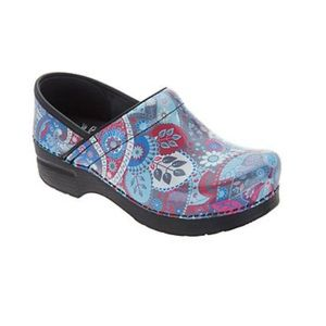 DANSKO Paisley Patent Leather Shoes